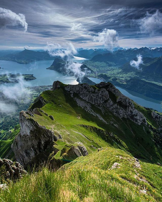 Mount Pilatus, Lucern Switzerland. Photo by: @scotts_shotz Explore. Share. Inspire: #earthfocus
