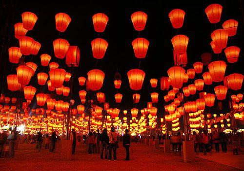 festival de lanternas china