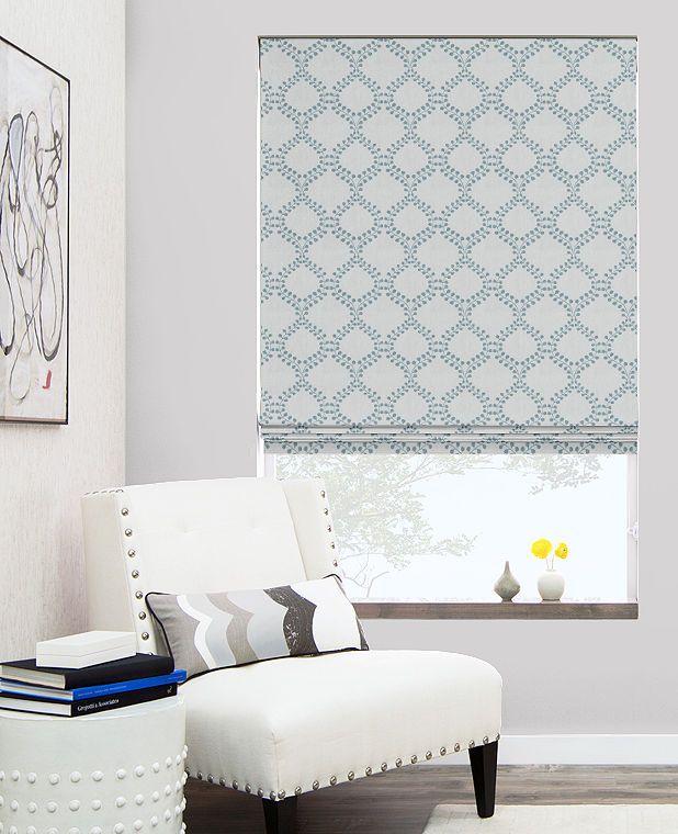 roman shades custom 2017 grasscloth wallpaper. Black Bedroom Furniture Sets. Home Design Ideas