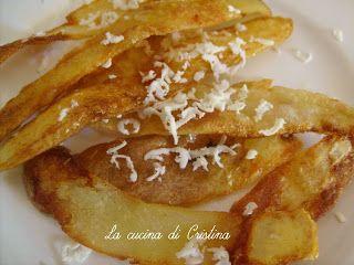 Bucce di patate novelle con formagio - Coji de cartofi noi cu brinza