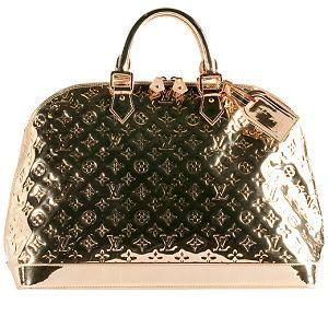 0e33cd61691a Louis Vuitton Limited Edition Monogram Miroir Alma Satchel Handbag