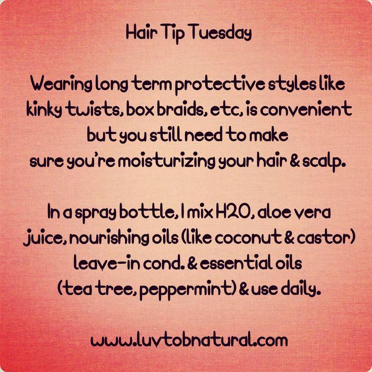 Hair Tip Tuesday: Moisturize!