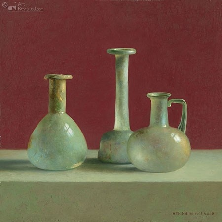 Romeins glas - Henk Helmantel - 50745p - 30x30 cm