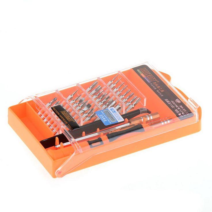33 in1 Portable Screwdriver Kit Precision New 33 in 1 Screwdriver Set PC Hard Drive Printer Shaver Repair Kit Tools P34