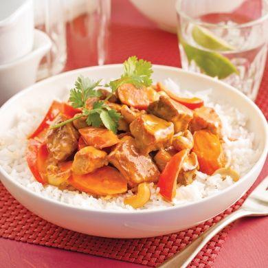 Mijoté de porc à l'asiatique - Recettes - Cuisine et nutrition - Pratico Pratique