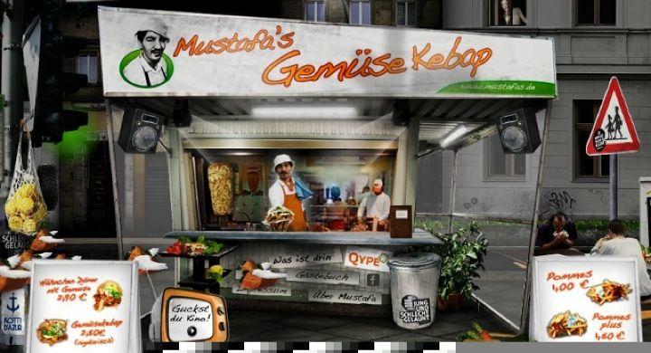Mustafa's Gemüse Kebap in Berlin #KREUZBERG