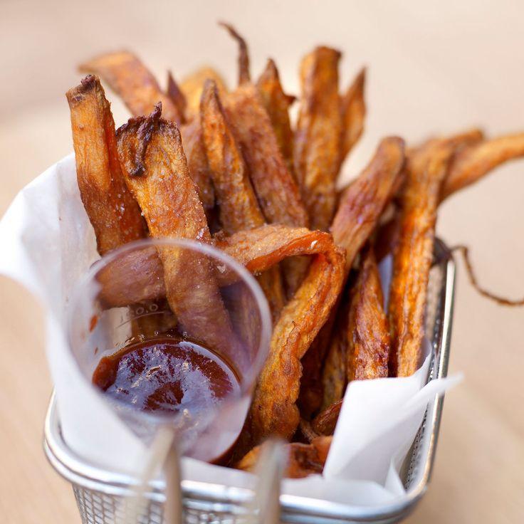 Découvrez la recette des frites de patate douce