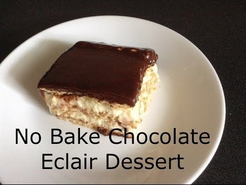 Sugar and Spice Holiday Collab - No Bake Chocolate Eclair Dessert November 30th