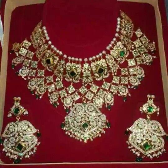 Rajputi beautiful necklace set by kuldeep singh