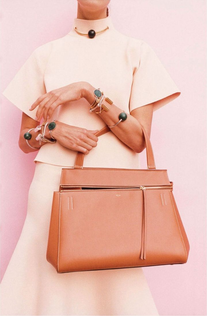 Celine Edge bag in tan leather | Fashion | Pinterest | Celine, Tan ...