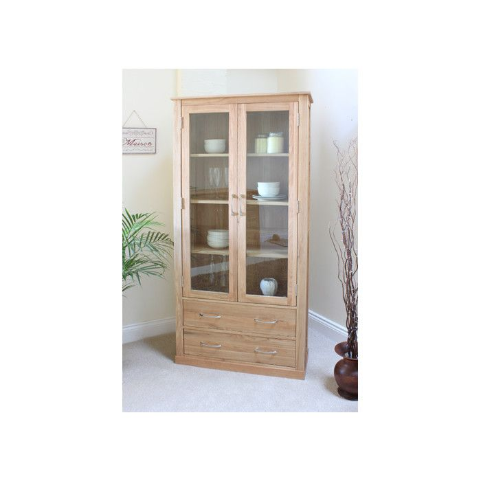 Baumhaus Mobel Solid Oak Display Cabinet U0026 Reviews | Wayfair UK