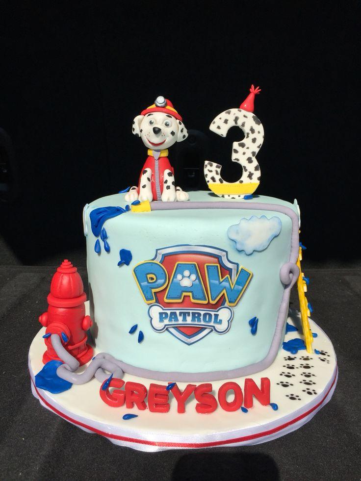 Paw Patrol Cake Children Cakes Paw Patrol Cake Paw