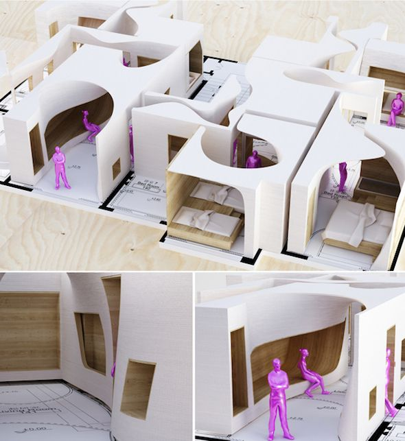 The Snow Apartment by Penda