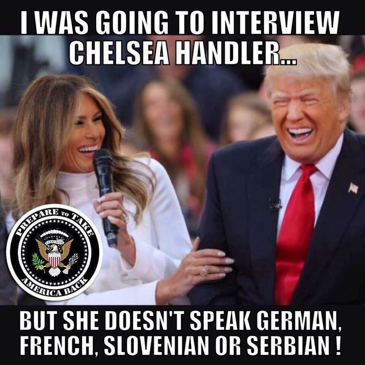 ChelseaHandler: Melania Trump 'Can Barely Speak English' REALLY?  You can interview her in one of her other 5 languages! Oh wait...MAGA