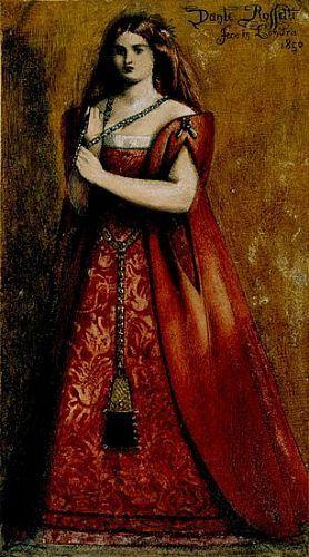 Dante Gabriel Rossetti - Rossovestita