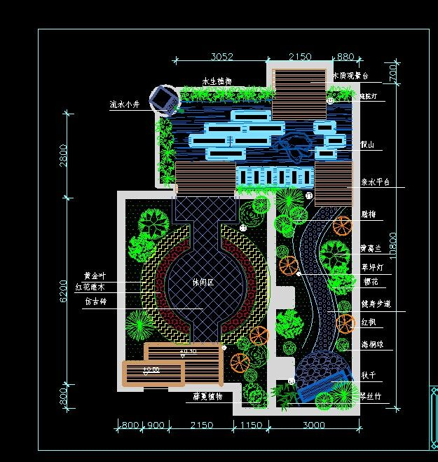 Garden CAD Plan, Download The HD Full Version On Heypik