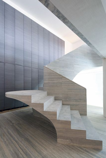 Stone stair in Central London