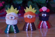 Miss Imperdibles: Broches y accesorios de Fieltro, Goma Eva, Foami, Fomi, Fofuchas y Fofulapices.: Ya vienen Los Reyes...