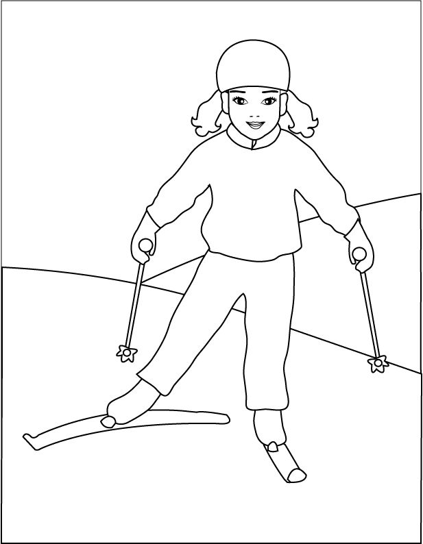 winter coloring pages for print: winter coloring pages for print