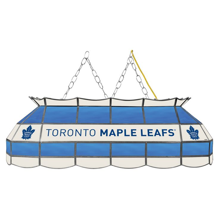 NHL Toronto Maple Leafs 40 Handmade Tiffany Style Lamp