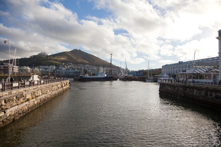 Cape Town Harbour, view from Water Front