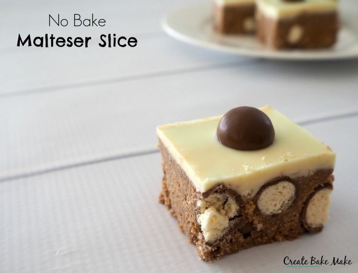 Easy No Bake Slice, Balls and Cheesecake Recipes - Create Bake Make