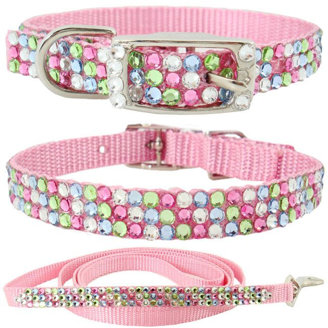 Fancy Rhinestone Dog Collars | Rhinestones Jewelry Designs