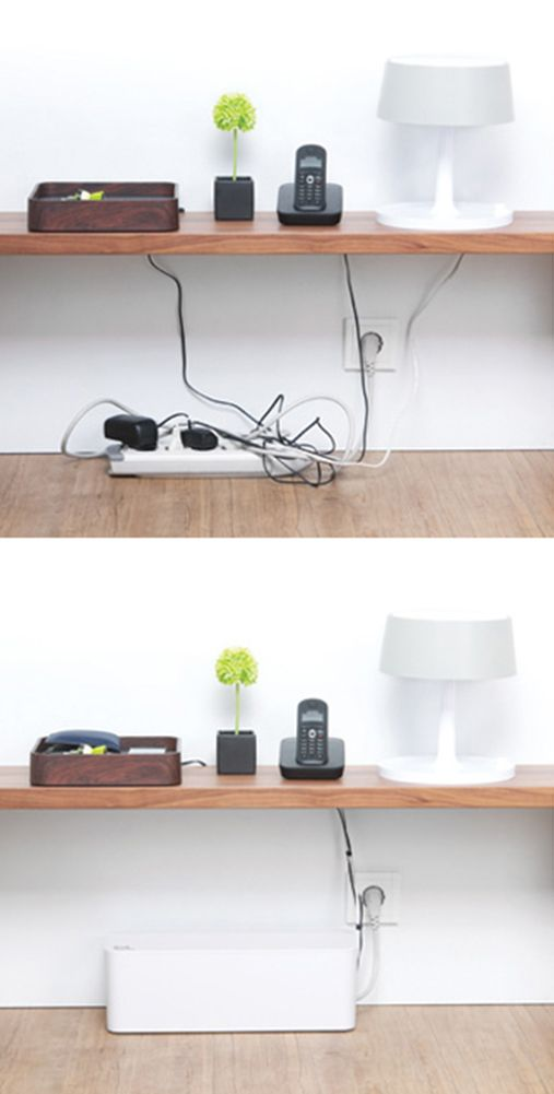 Say goodbye to tangled cords and unsightly cable mess!