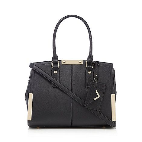 Call It Spring Black 'Rappoport' tote bag | Debenhams