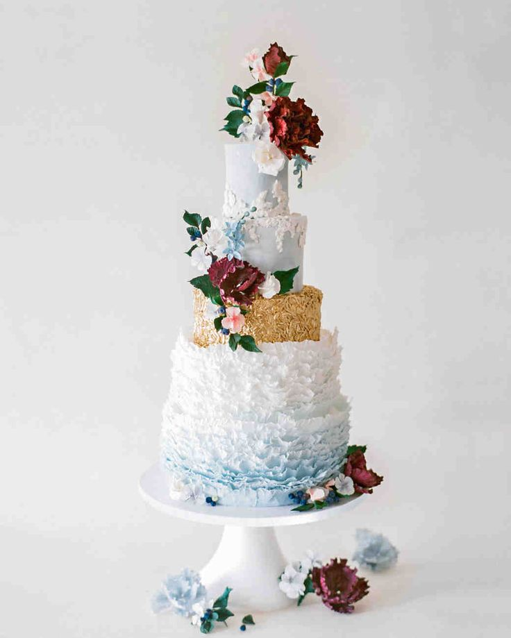 Gumpaste Flowers For Wedding Cakes: 1664 Best Images About Wedding Cake Ideas On Pinterest