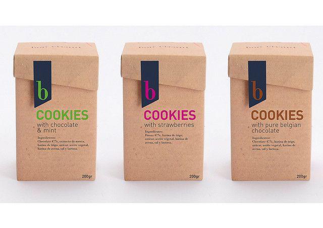 Packaging cookies, cajas galletas, via Flickr.