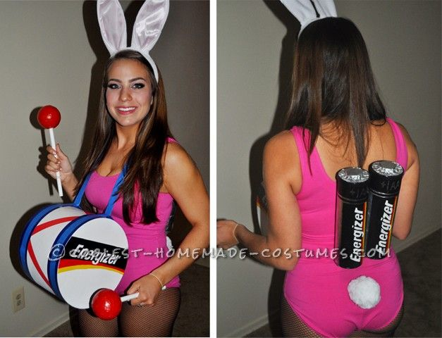 Sexy Energizer Bunny Costume… Coolest Halloween Costume Contest