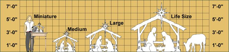 Nativity Scene Woodworking Plans - WoodWorking Projects & Plans