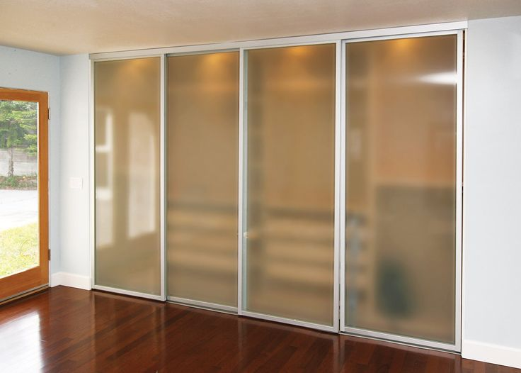 Sliding Closet Doors Opaque Glass