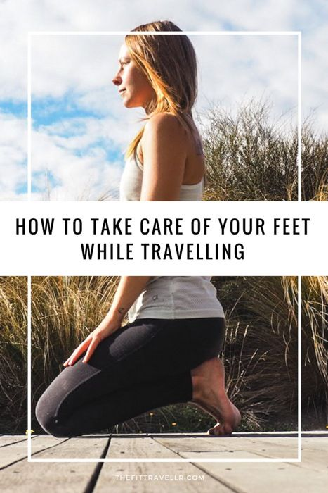 How to Take Care of Tired Feet While Travelling - Plus an Easy 5-minute Foot Love Routine. Travelling can its toll on your feet. Here's how to take care of tired feet while travelling with an easy 5-minute Foot Love Routine.