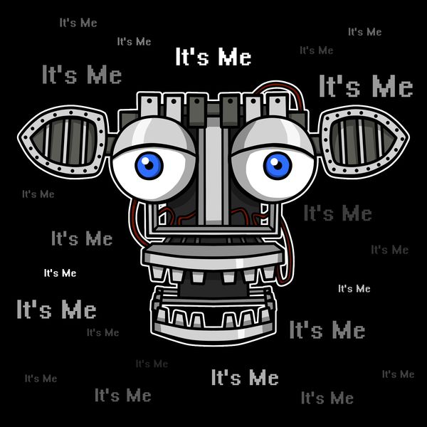 ======= Shirt for Sale ======= Endoskeleton - It's Me  Five Nights at Freddy's tshirt by Kaiserin. =========================   #FNAF