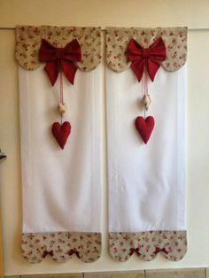 cenefas de cortinas paracocina modernas - Google Search