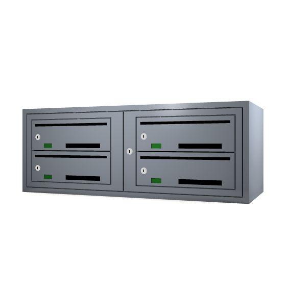 Svenskboxen 2x2  Article number:   SVB22-7001-1000    En komplett postbox med marknadens högsta säkerhetsklass. Svensk-boxen är förberedd för ellåsinstallation som standard och uppfyller användbarhetskraven från Bygg klokt för personer med funktions-nedsättningar.        Svenskboxen är den enda postboxen på marknaden som erhållit den högsta säkerhetsklassen (säkerhetsklass II) vilket innebär att den motstår inbrottsförsök bäst av alla boxar.