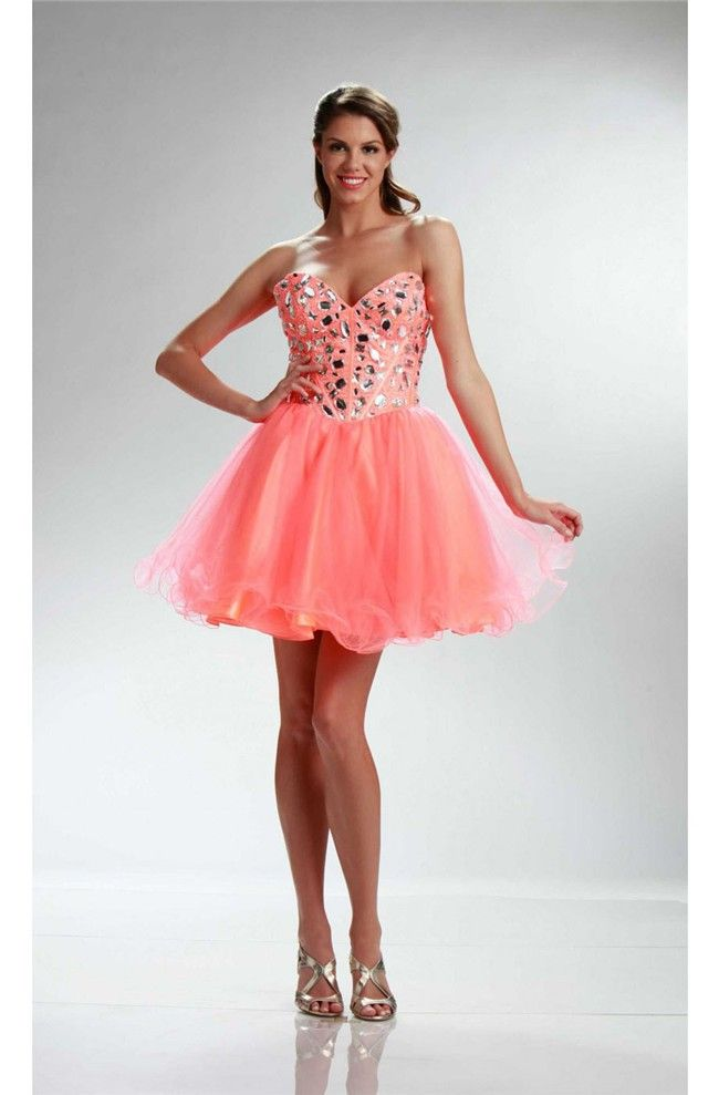 101 best Coral prom dresses images on Pinterest | Coral ...