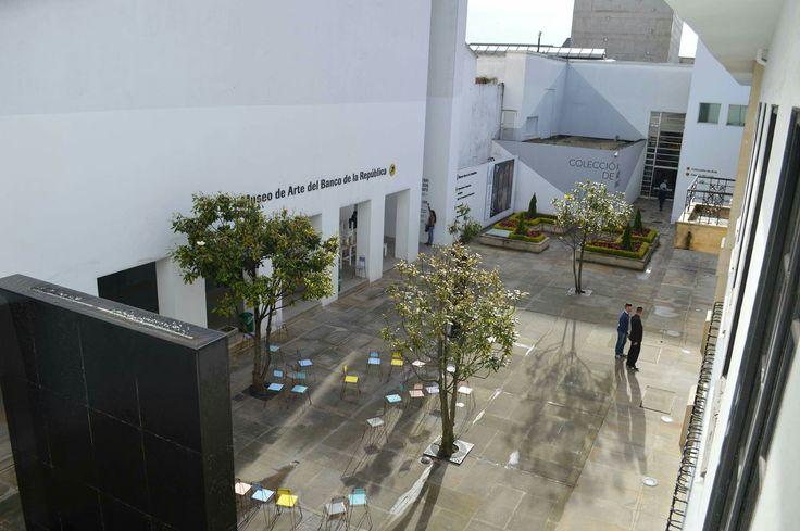 Museo de Arte del Banco de la República en Bogotá, Colombia. Visita: www.encontrastela... #EncontrasteLaCandelaria #Bogotá #Colombia #Candelaria Fotografía tomada por: Lorena Correa.