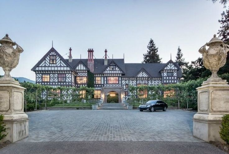 12335 Stonebrook Dr, Los Altos Hills, CA 94022 | MLS# 408977 | 30,000 sf | 7 bed | 9 bath | built 1914 | +/-8 acres | separate caretaker/guest house | parking for 20+ | $25,000,000 USD.