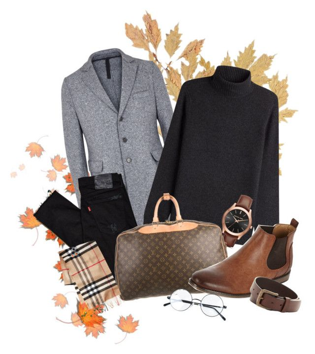 """""""Set #25"""" by mermerjulia on Polyvore featuring Harris Wharf London, Vince, Levi's, Michael Kors, Louis Vuitton, River Island, Will Leather Goods, men's fashion, menswear and bts"""