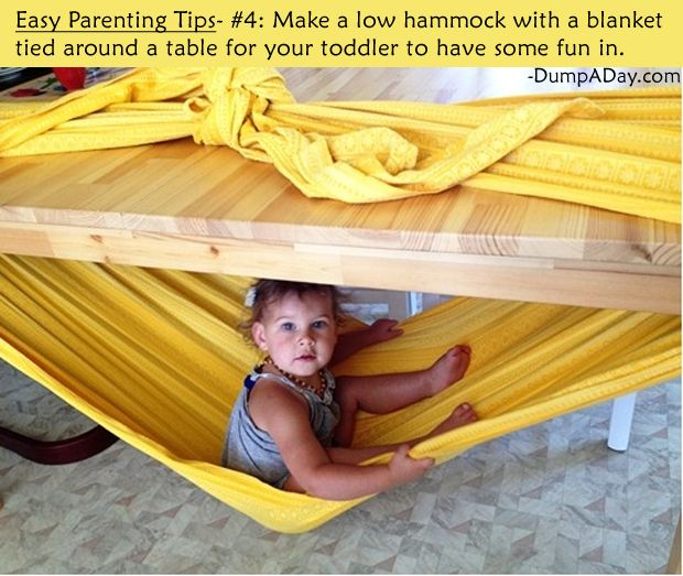 Easy Parenting Tips 16 Pics Home Ideas Pinterest Hammock