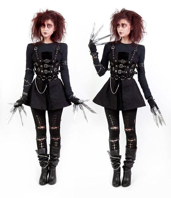 edward scissorhands costume - Google Search More