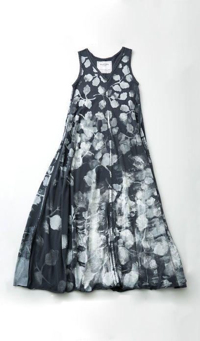 Alabama Chanin : Painted Long A-Line Dress