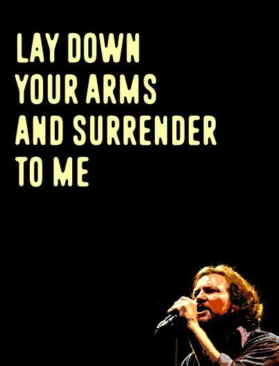 Soldier of Love - Pearl Jam