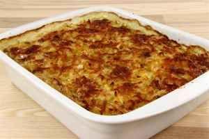 Koteletter i fad med låg af kartofler, billede 4