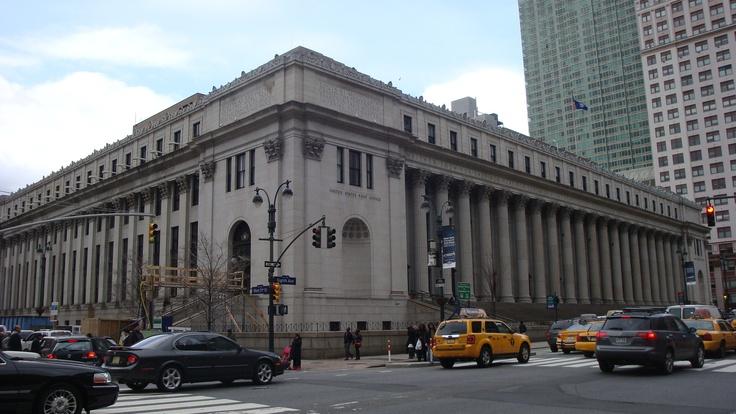 Edificio del Servicio Postal NYC