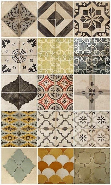 Moroccan Tile....the trend that has my heart!