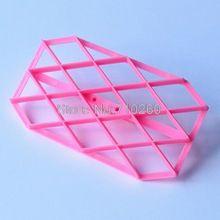 A069 1 stück Grid form Diamant fondant kuchen dekorieren tools gesetzt kuchen…